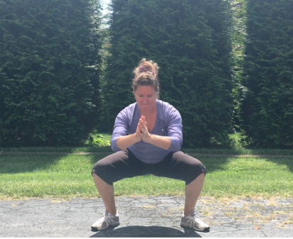 Sumo Squat Finish